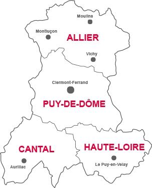 Bourse locaux auvergne for Piscine puy de dome